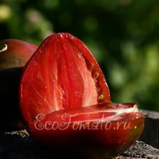Сорт томата Бычье сердце черное